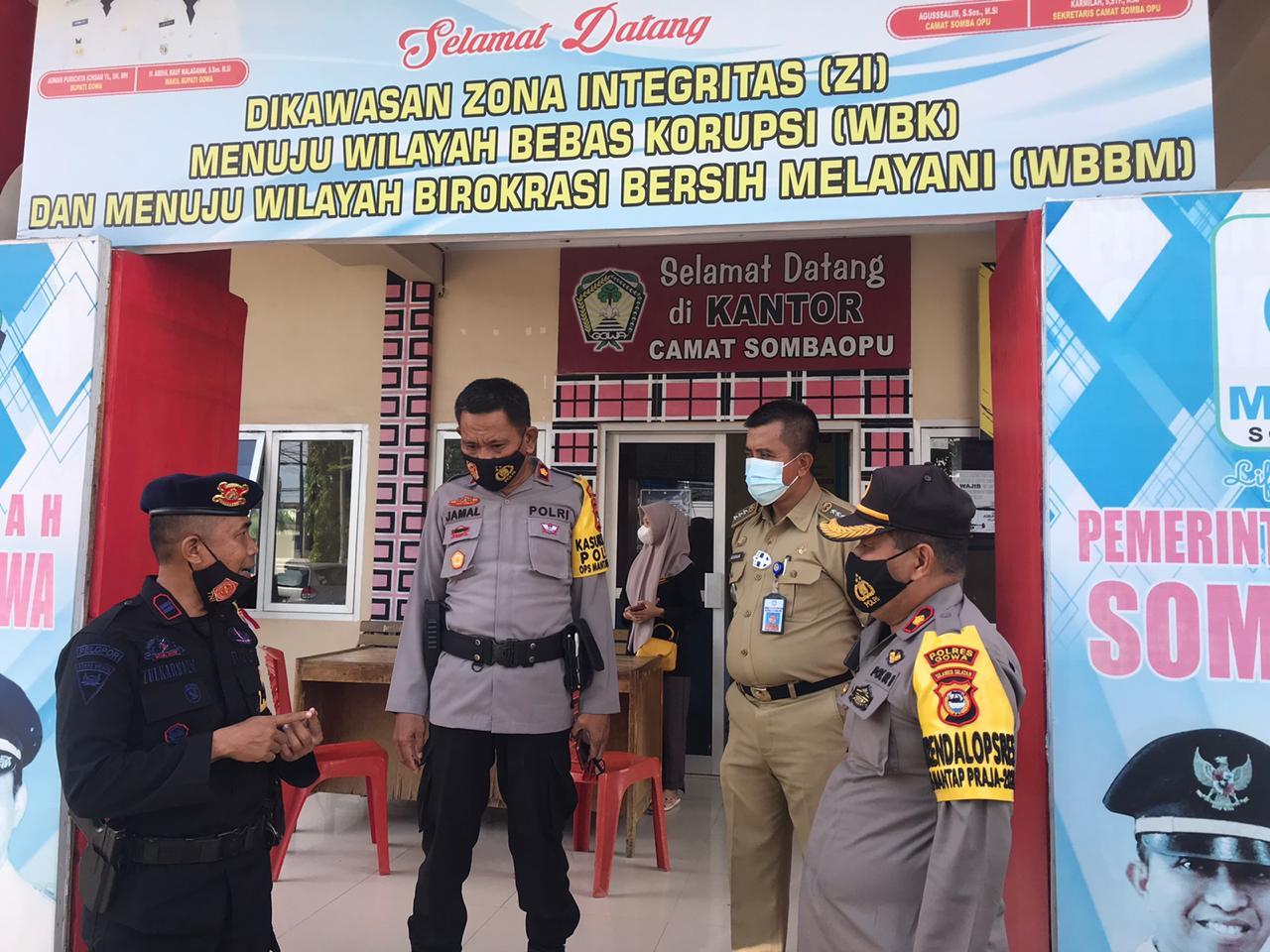Backup Pengamanan Pilkada Di Gowa Satu Regu Pasukan Brimob Polda Sulsel Diturunkan Ke Tps Wilayah Polsek Somba Opu Berita Kota Online