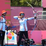 Kalah Telak 2-6, Tim Panahan Atlet Beregu Campuran Indonesia Kandas di Perempat Final Olimpiade Tokyo