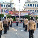 Kapolres Gowa Ajak Personil Saksikan Detik-Detik Proklamasi dari Istana Negara secara Virtual