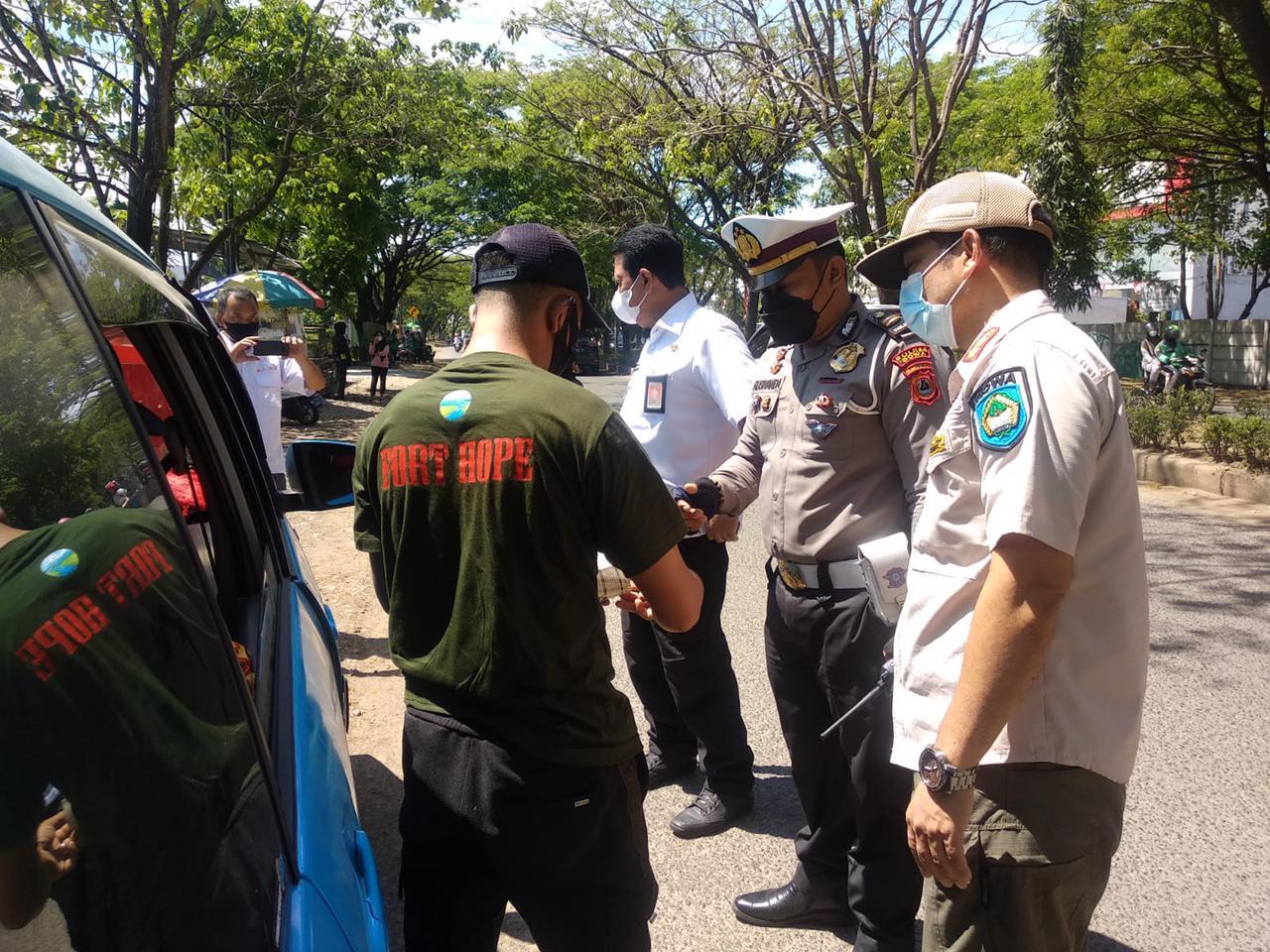 Tim 2 PPKM Level 3 Kab Gowa Semakin Gencar Operasi Yustisi Masker Dimasa Pandemi Covid-19