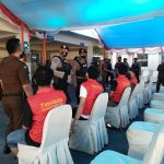 Pastikan Kamtibmas Dan Vaksinasi Massal di Gowa Aman, Sat Samapta Resor Gowa Gelar Patroli