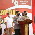 Kapolri Serahkan 10 Iso Tank untuk Indonesia Antisipasi Ketersediaan Oksigen