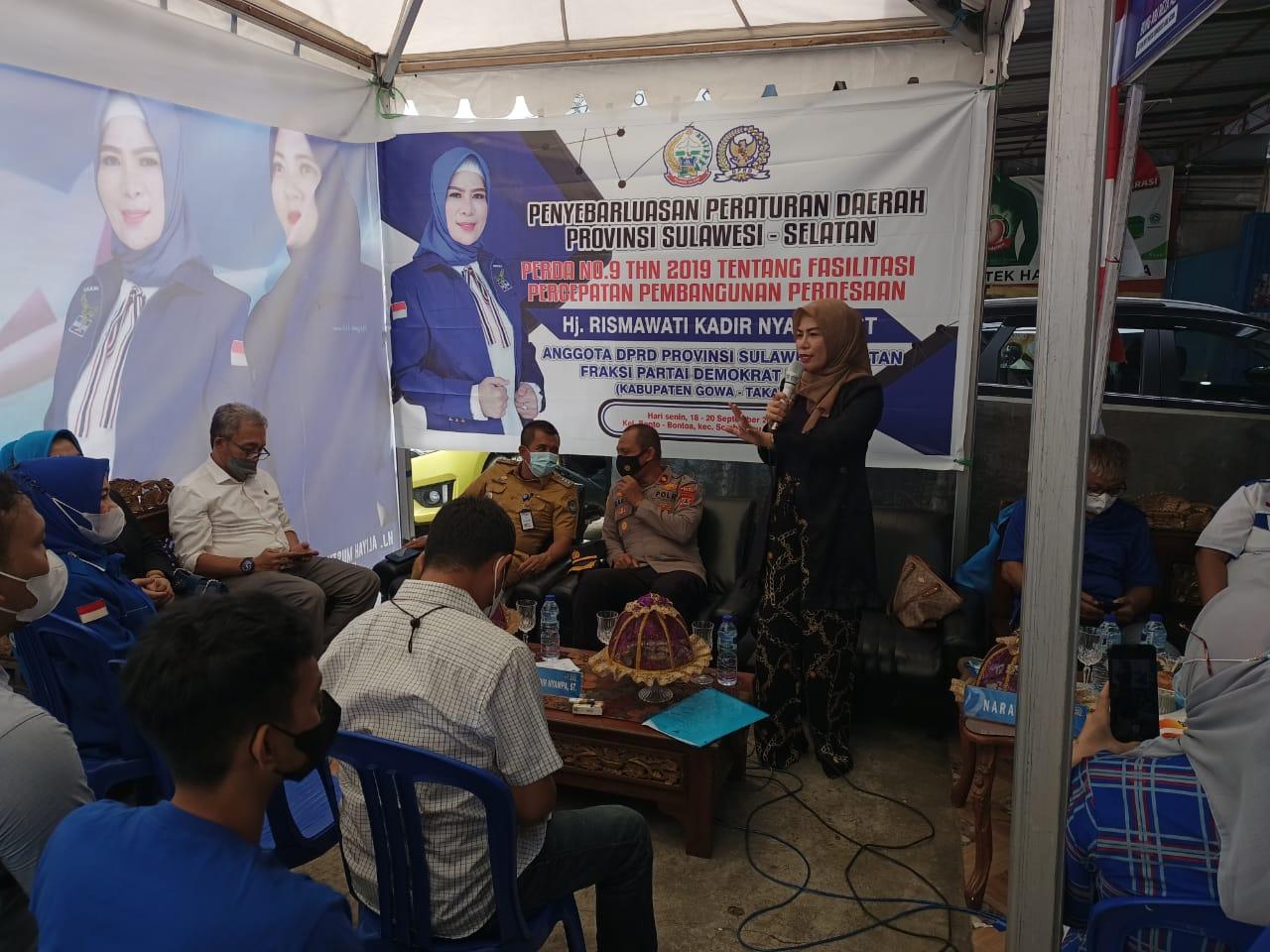 Tripika Somba Opu Hadiri Undangan Sosialisasi Perda No.9 Tahun 2019 Oleh Anggota DPRD Provinsi Sulsel