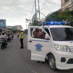 Gelar Operasi Patuh 2021, Polres Gowa Edukasi Pengguna Jalan