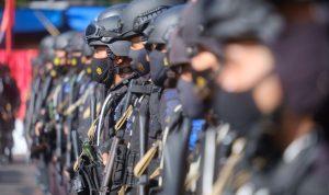 Kapolda Sulsel Lepas Pemberangkatan 201 Personel Brimob Bantu Pengamanan PON XX di Papua