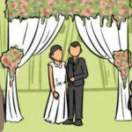 Resepsi Pernikahan Warga Jalan A. Jemma Makassar Dipadati Para Undangan Tanpa Prokes
