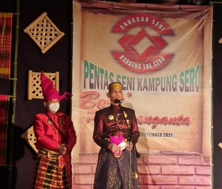 """Demi Melestarikan Adat Dan Budaya; Bangun Semangat Kab. Gowa Adakan Pentas Seni Kampung Sero """"BORIPARANGANTA""""."""